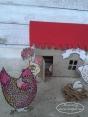 Ein echtes Hühnerhaus?