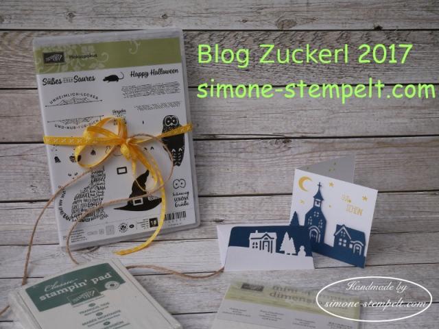 Blog Zuckerl 2017 Verlosung Stampin Up