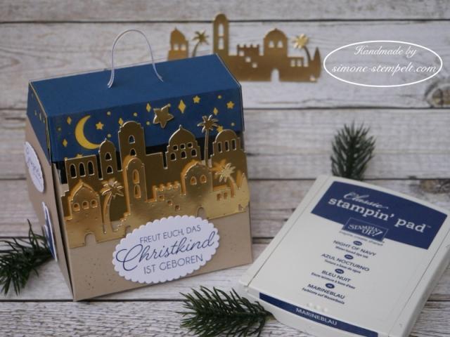 Stampin Up Et voila Verpackung Heilige Nacht Weihnachten 2017 P1000656.JPG
