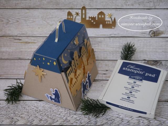 Stampin Up Et voila Verpackung Heilige Nacht Weihnachten 2017 P1000659.JPG