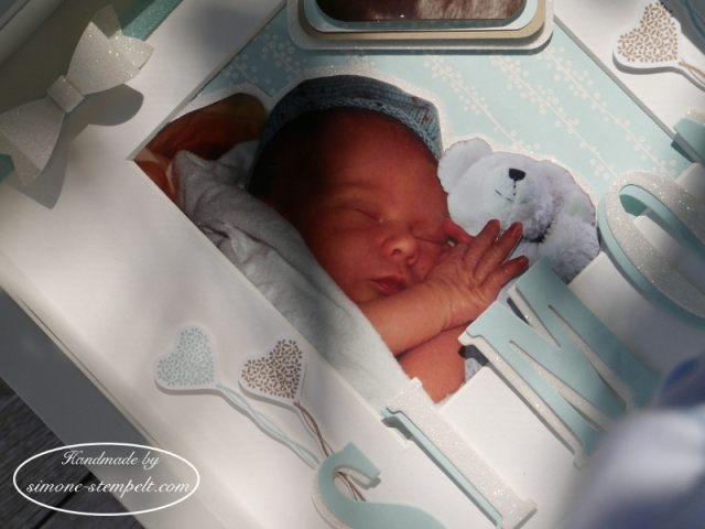 Kreativ durch.  shadow box Baby Boy Stampin´Up! 2017 P1010167.JPG