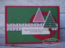 Stampin`Up Weihnachtsquilt, Filz-Accessoires 2017 P1010116