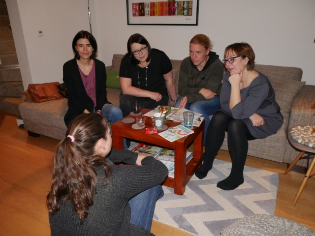 Stampin UP Teamtreffen bei Marion  Nov. 2017 .JPG