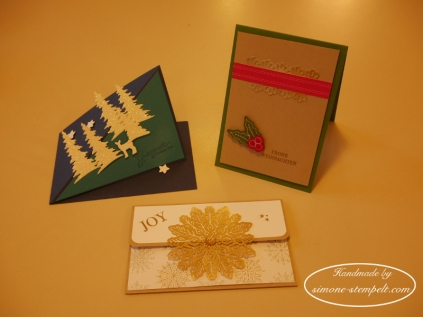 Weihnachtsworkshop Projekte 2017 Stampin`Up P1010658