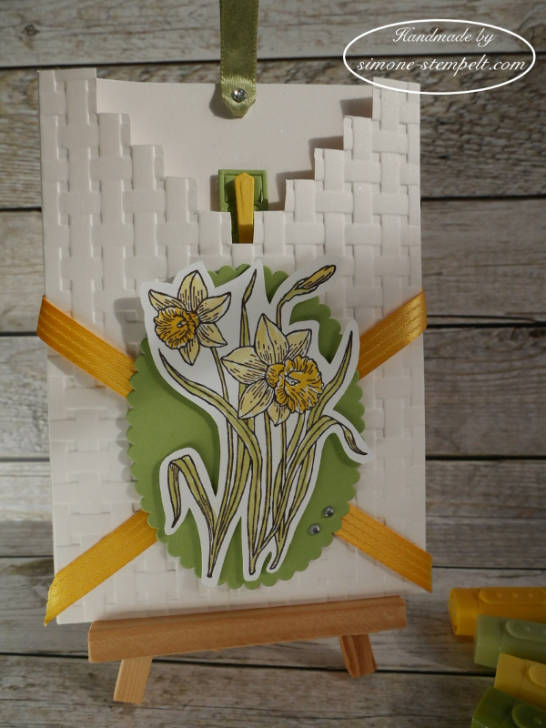 Zu Ostern Taschenkarte 2018 Stampin`Up P1020627