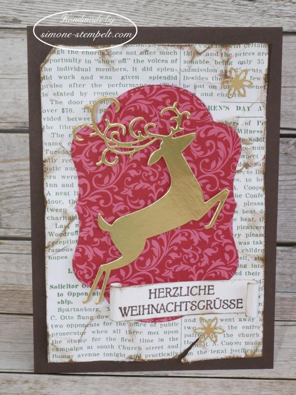 Elegante Weihnachten Hirsch 2018 simone-stempelt P1040258