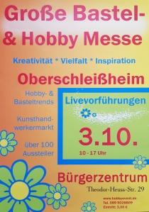 Große Bastel - und Hobby Messe