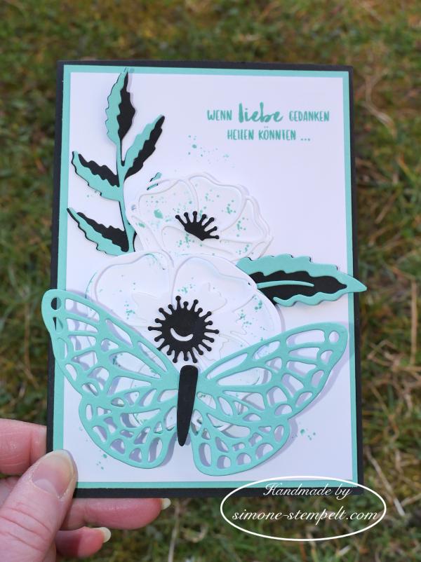 GDP  #231 Mohnblüten Schmetterling simone-stempelt 2020 P1080461.JPG